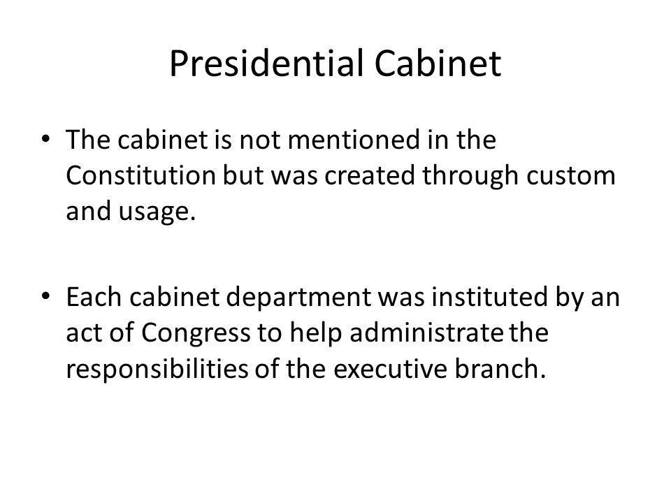 The President. - ppt download