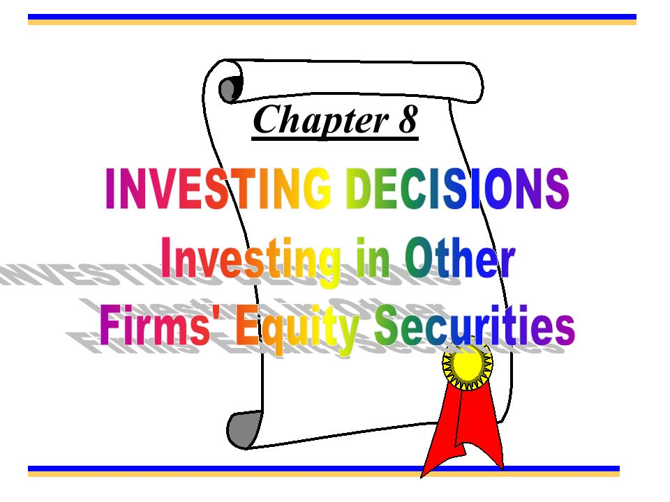 Firms Equity Securities