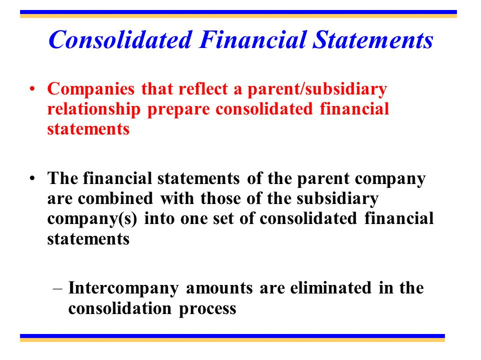 parent and subsidiary company relationship with customers