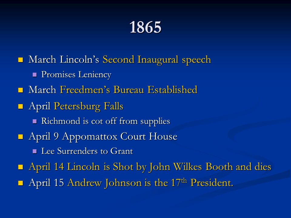 lincoln's second inaugural speech Abraham lincoln's second inaugural address, delivered 150 years ago wednesday, has gone down in history as the most famous by any president.