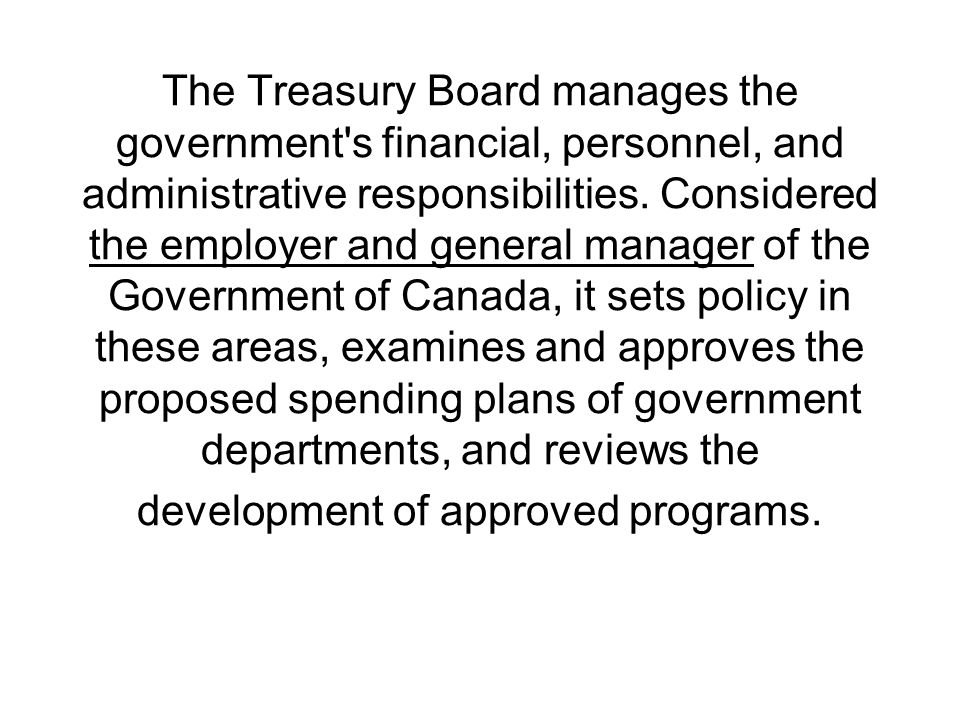 Treasury Board of Canada Secretariat 2018–19 Departmental Plan