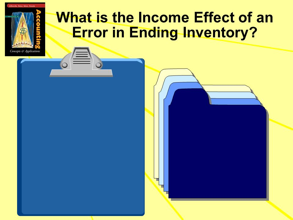 What is the Income Effect of an Error in Ending Inventory