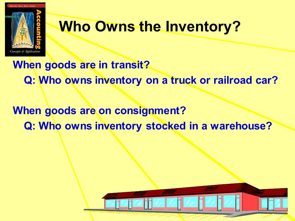 Who Owns the Inventory When goods are in transit