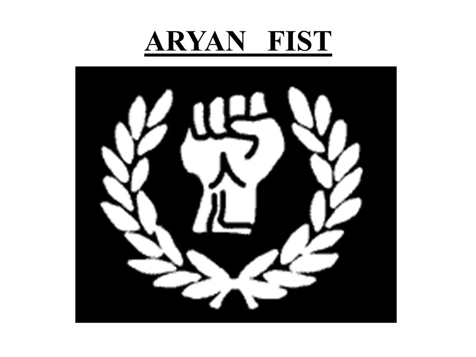 Aryan Brotherhood  Signs and symbols of cults gangs and