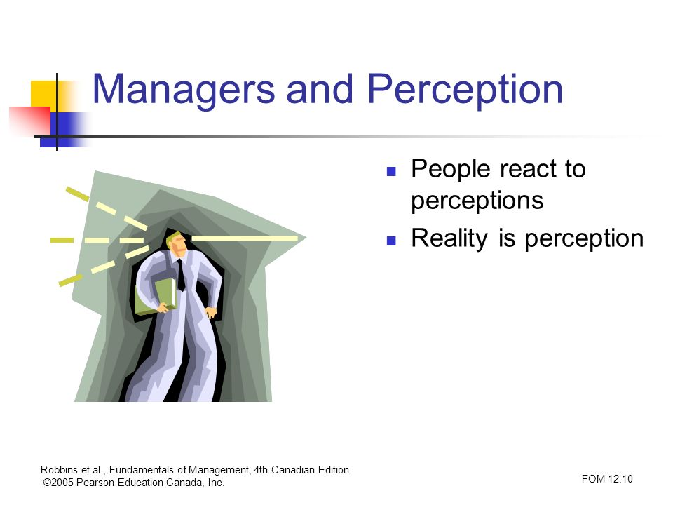 Managers and Perception