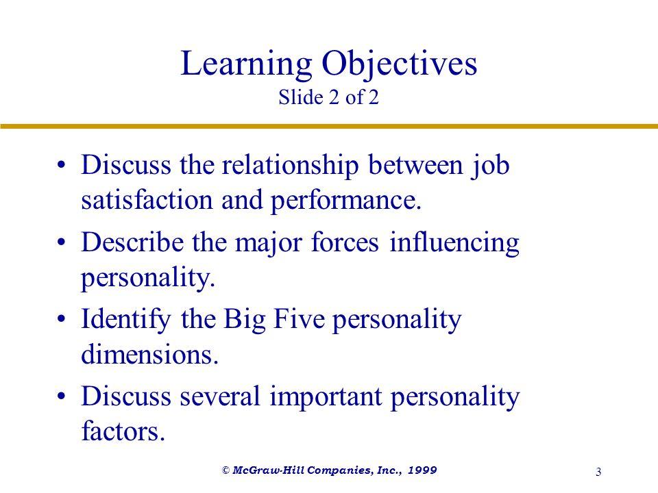 Learning Objectives Slide 2 of 2