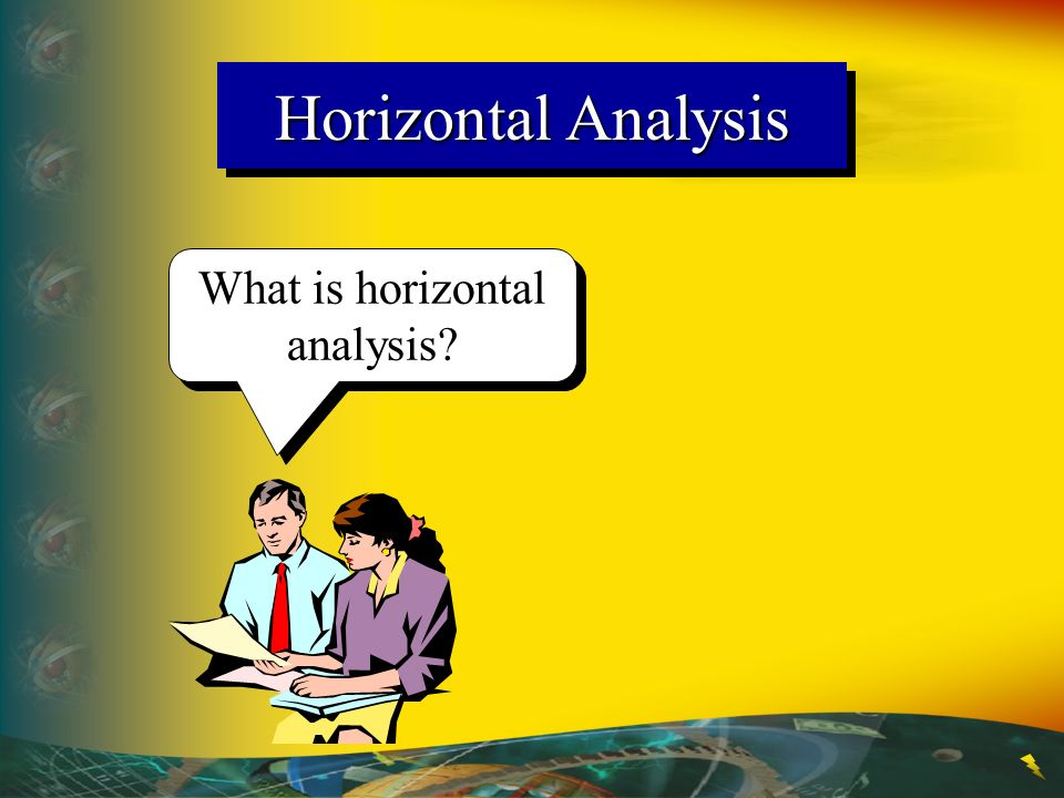 What is horizontal analysis