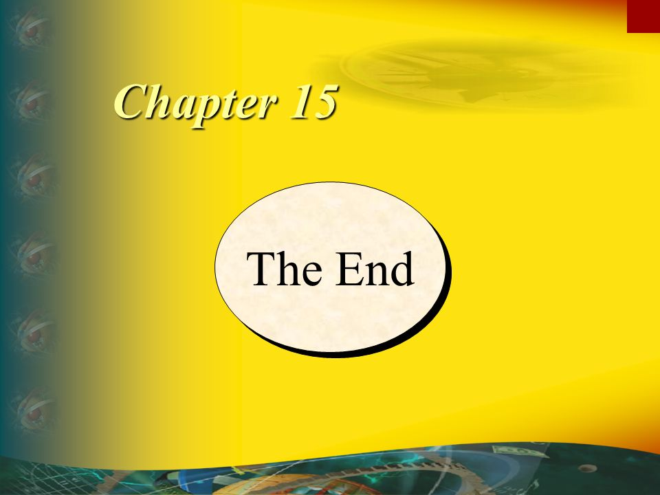 Chapter 15 The End