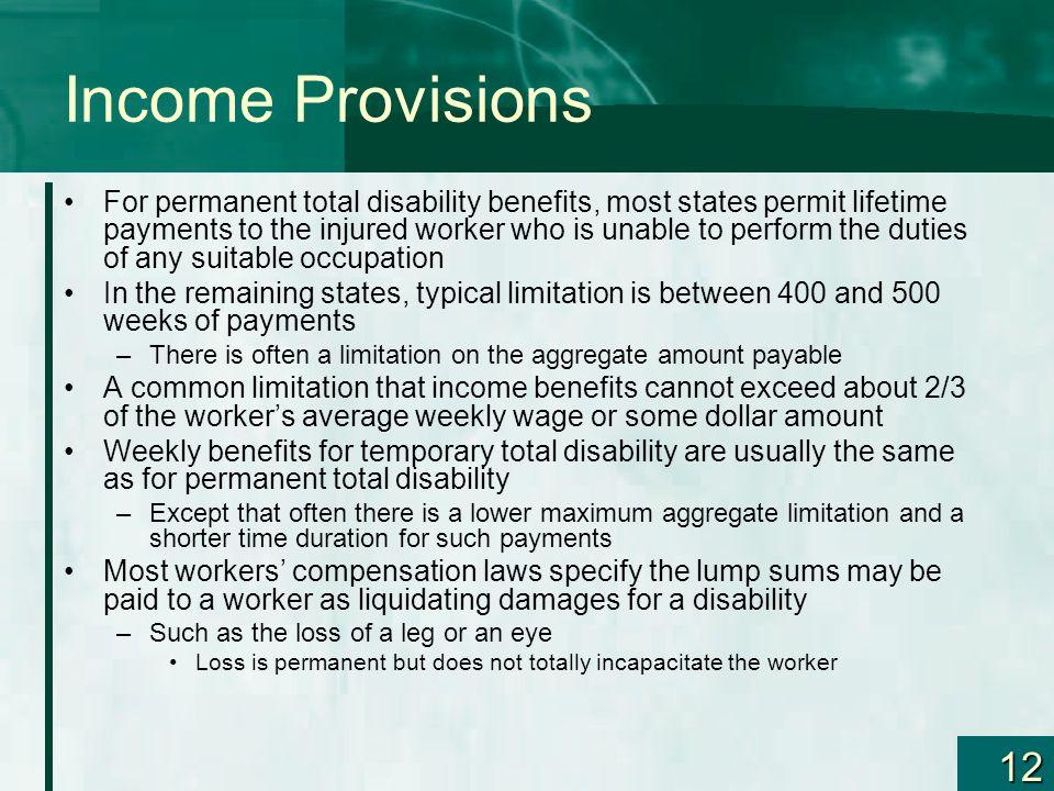 Income Provisions