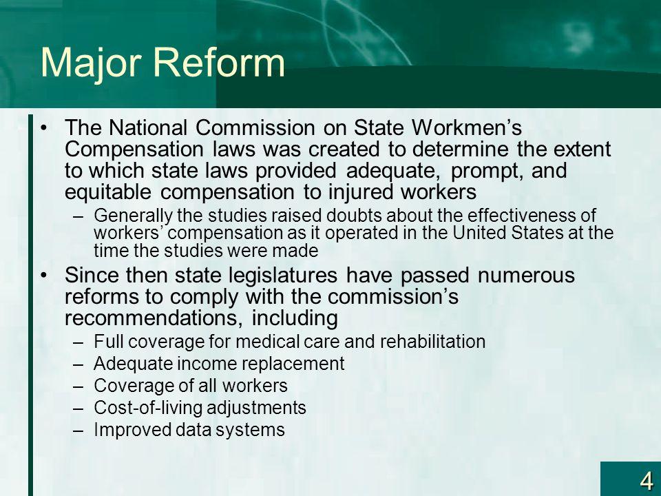 Major Reform