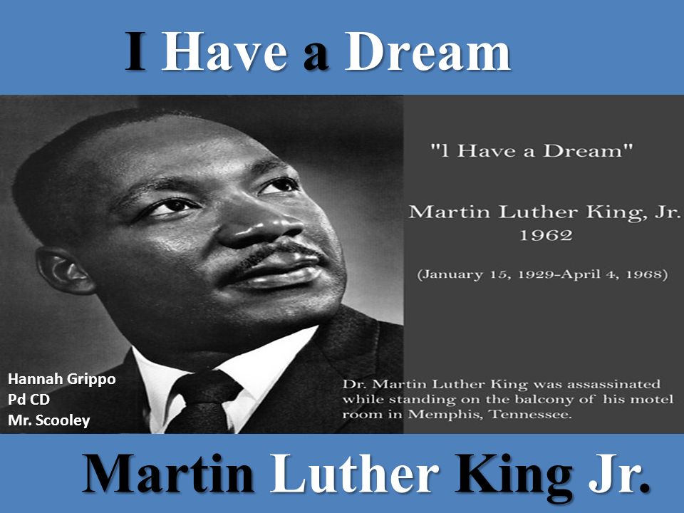 a better understanding of i have a dream by martin luther king jr