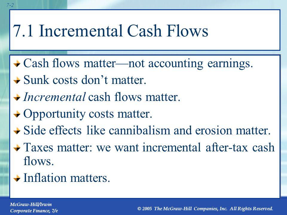 7.1 Incremental Cash Flows