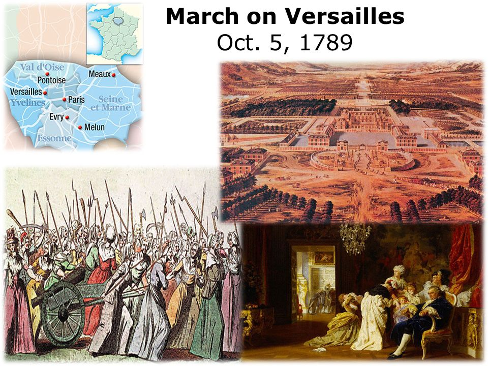 March on Versailles Oct. 5, 1789