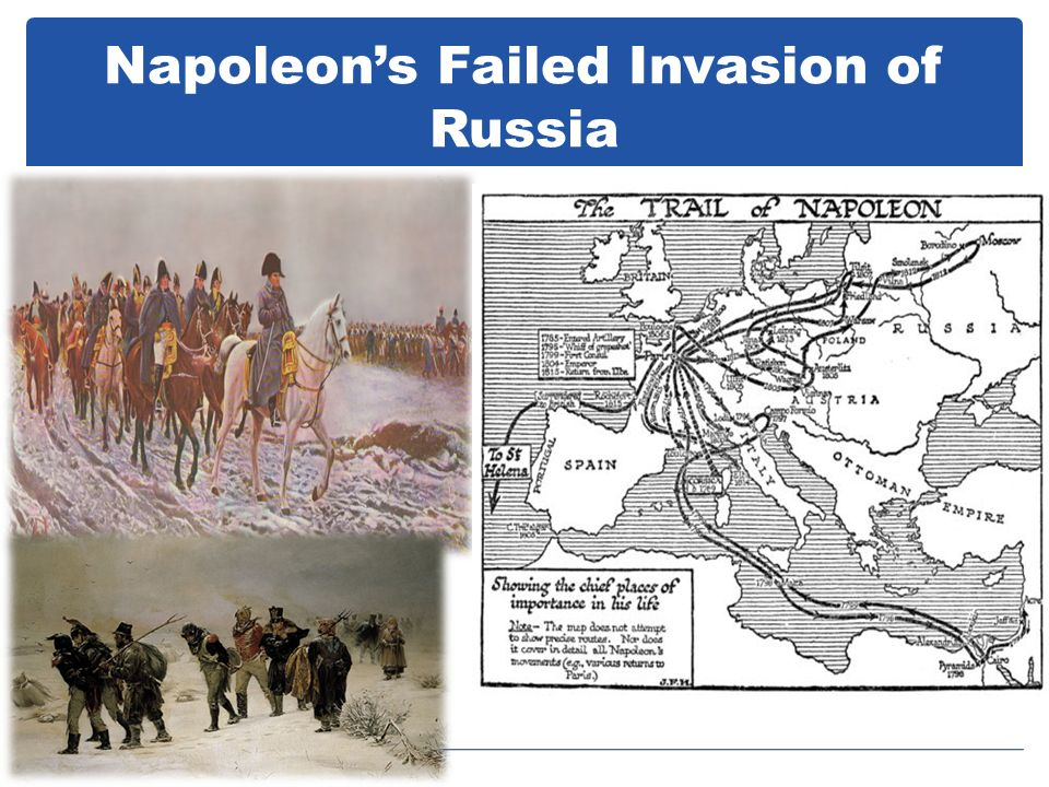 Napoleon's Failed Invasion of Russia