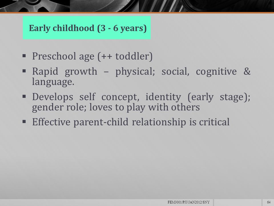 gender roles as introduced in early childhood development The development of education national report of zimbabwe by  education in early childhood development  development, gender and employment creation.