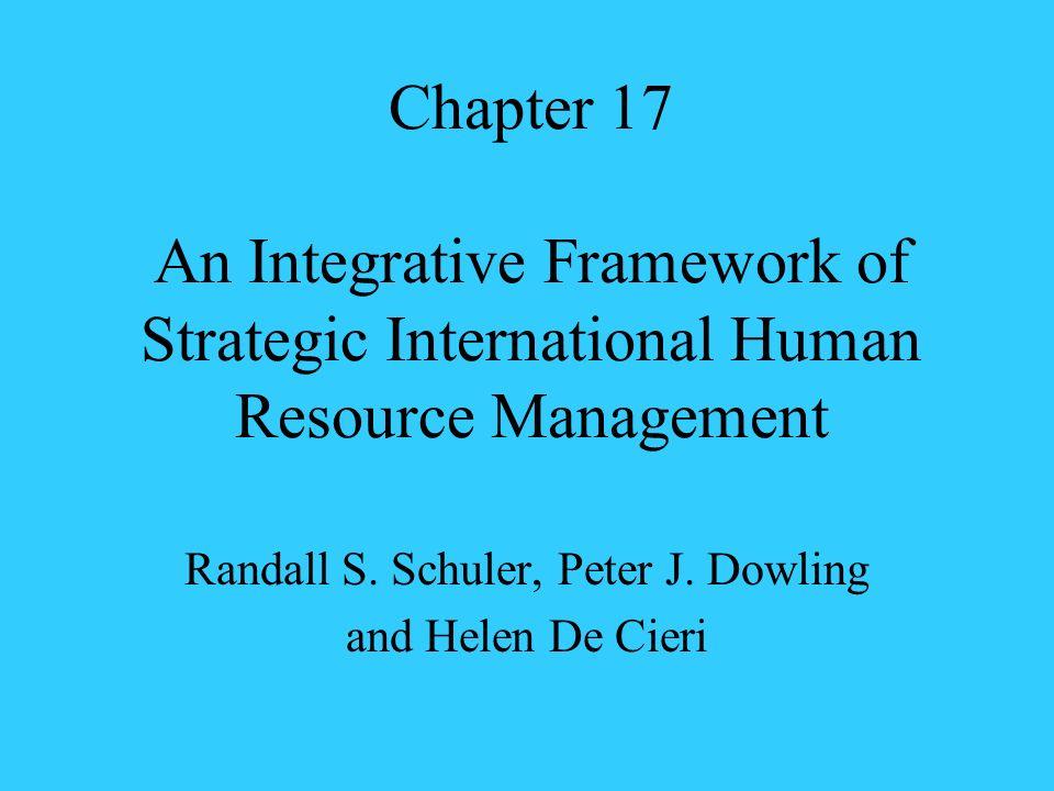 Randall S. Schuler, Peter J. Dowling and Helen De Cieri
