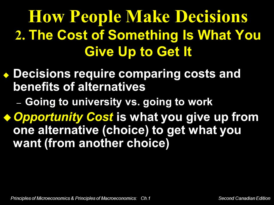 How People Make Decisions 2
