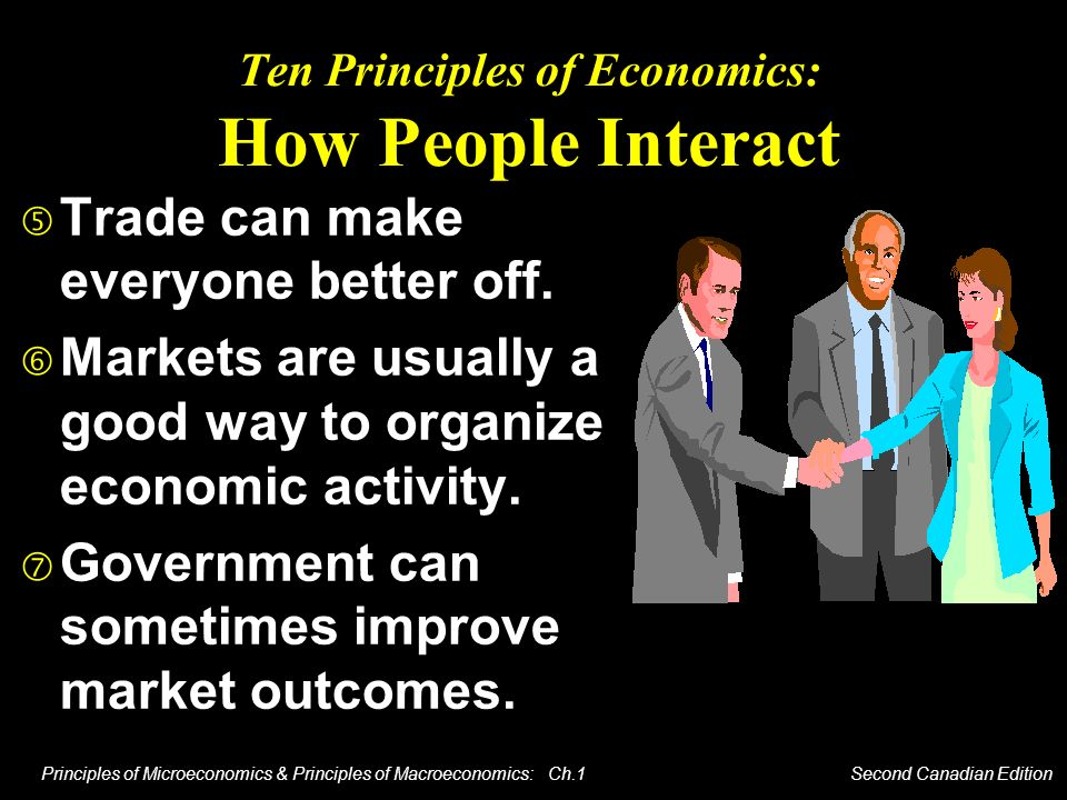 Ten Principles of Economics: How People Interact
