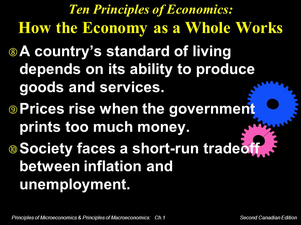 Ten Principles of Economics: How the Economy as a Whole Works
