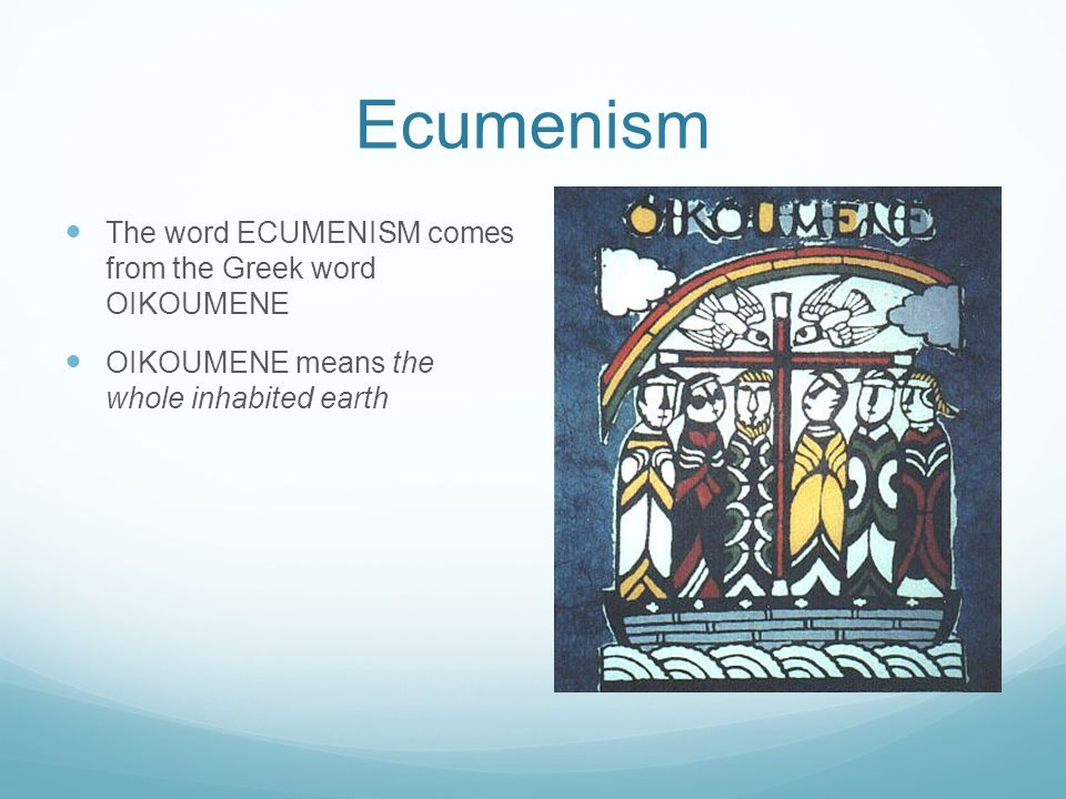 ecumenical developments in australia Norms of eco-justice ethics initiated by a team in australia ecumenical and secular development the ecumenical movement worldwide.