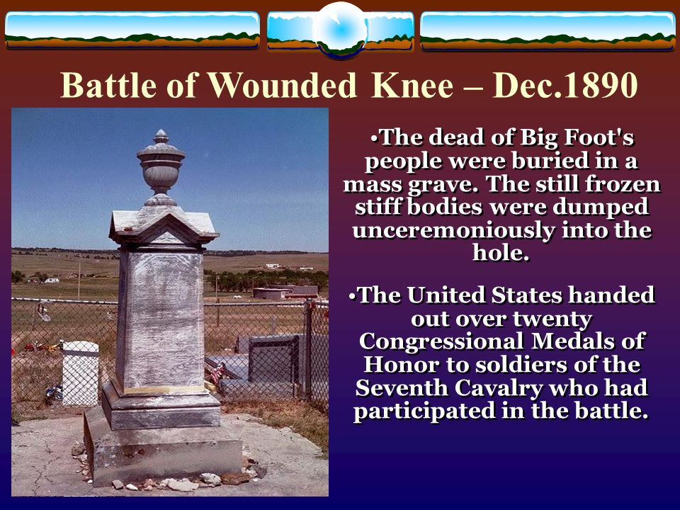 battle of the wounded knee