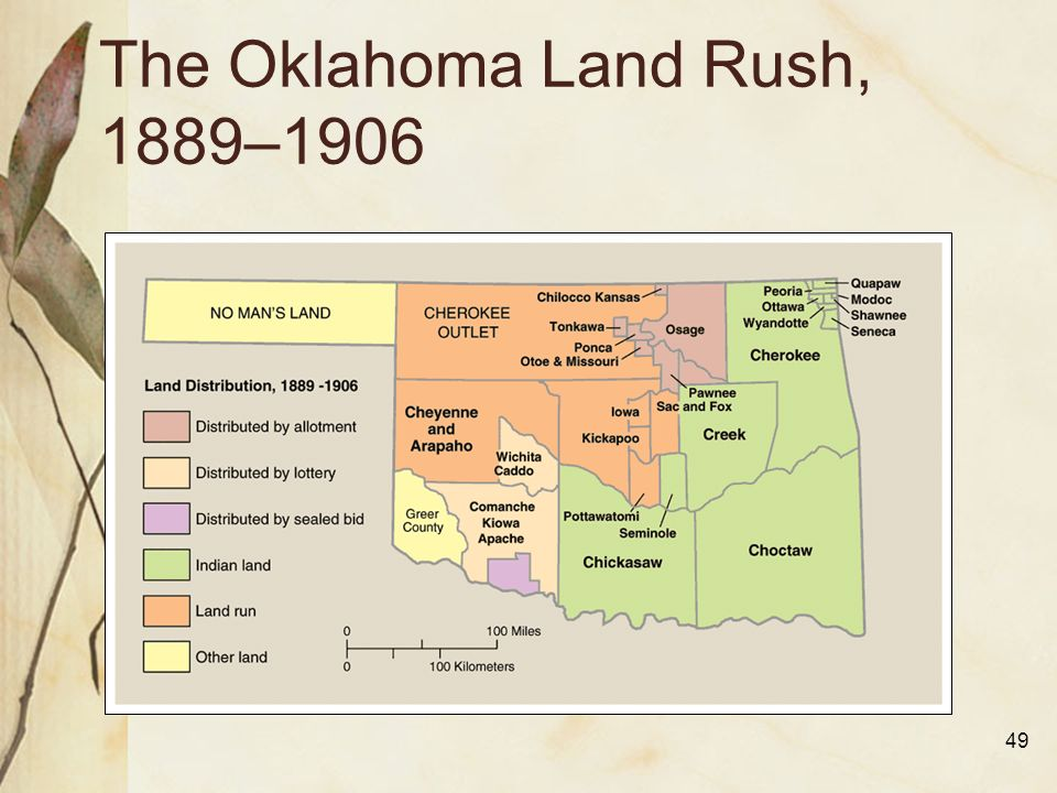 Image result for oklahoma land rush begins