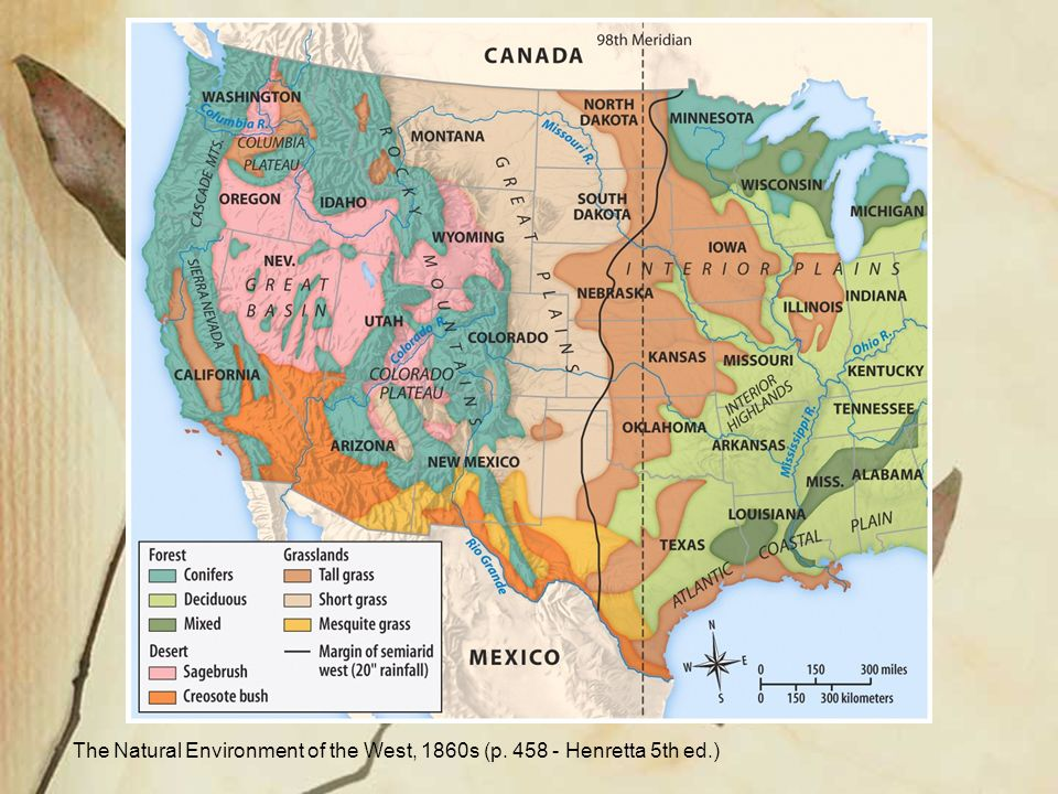 trans mississippi west I native americans and the trans-mississippi west a the plains indians i three major sub regions:-the northern plains: lakota, flatheads, blackfeet, assiniboins, northern cheyennes, arapahos, and crows -the central region: five civilized tribes, agricultural life, before horses -south: western kansas, colorado, eastern new mexico, and texas.