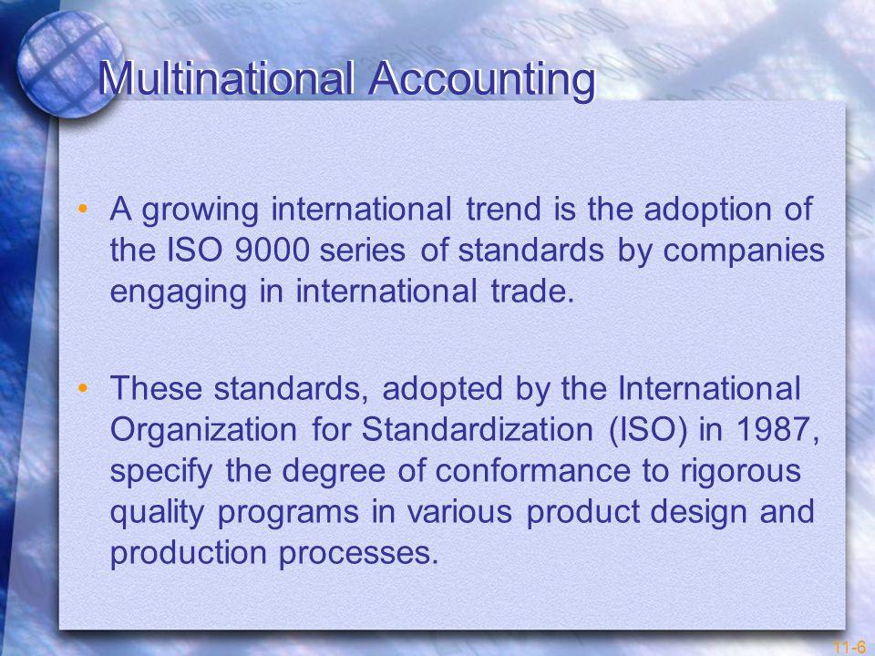 Multinational Accounting
