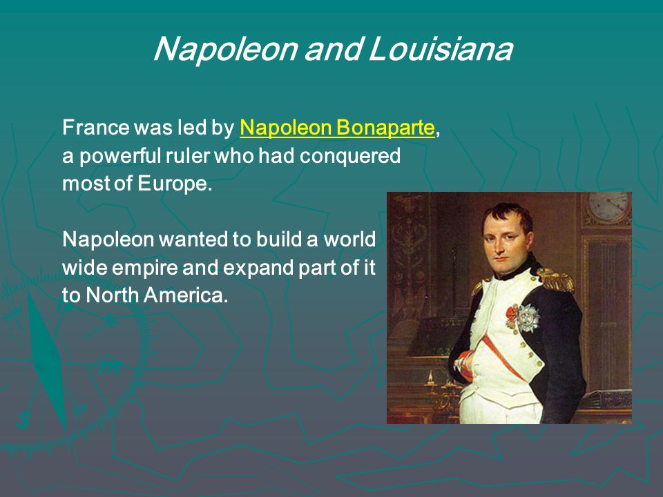 Napoleon and Louisiana