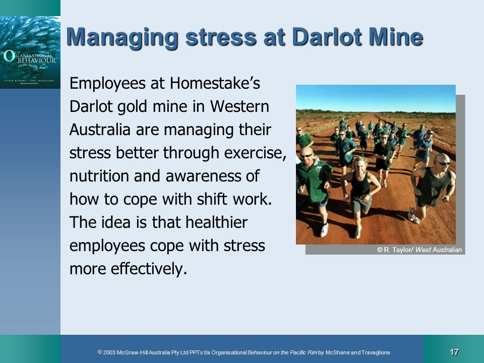 Managing stress at Darlot Mine