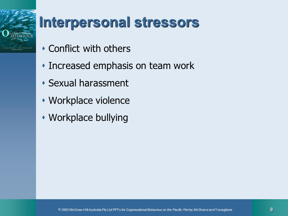 Interpersonal stressors