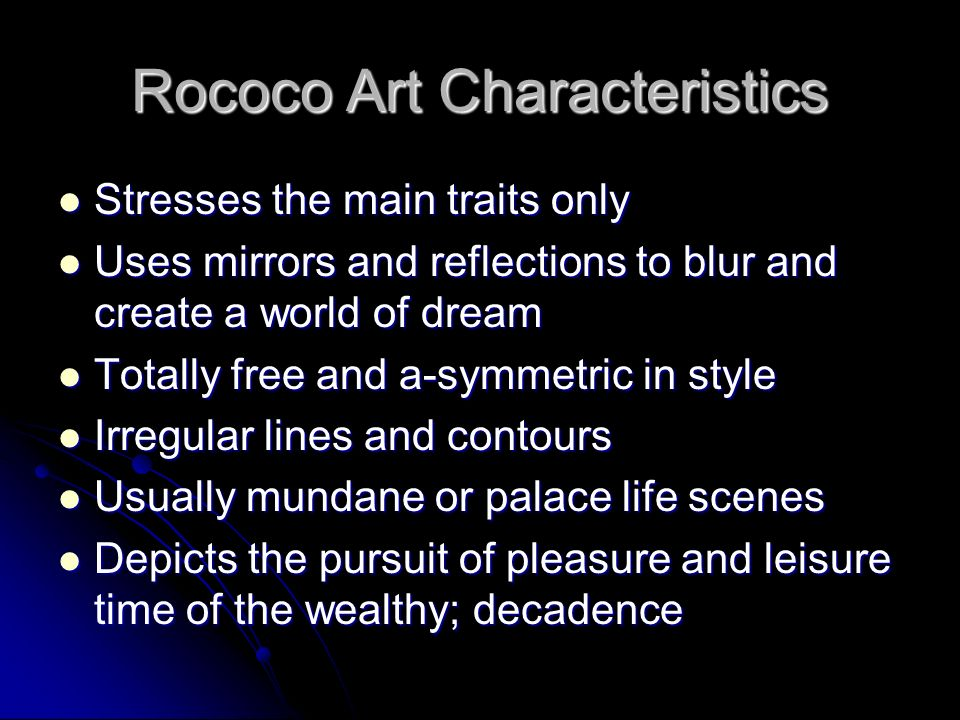 Characteristics Of Line In Art : Art of the enlightenment rococo and neoclassical