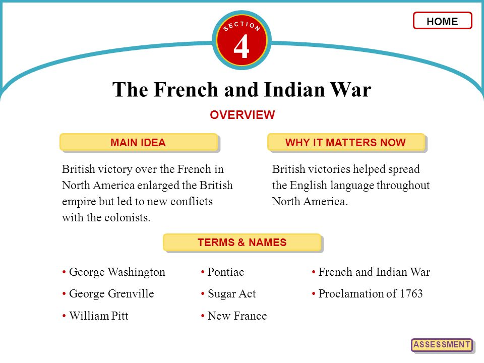 an overview of the french indian war and its impact on the british colonies Slideshow: the road to revolution overview  the north american colonies  took advantage of great britain's policy of salutary neglect to  explain the  causes and effects of the french-indian war, including its influence on the  american.