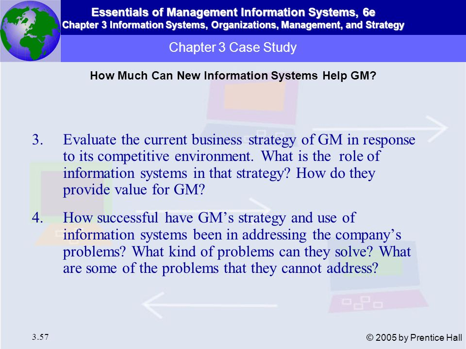 How Much Can New Information Systems Help GM
