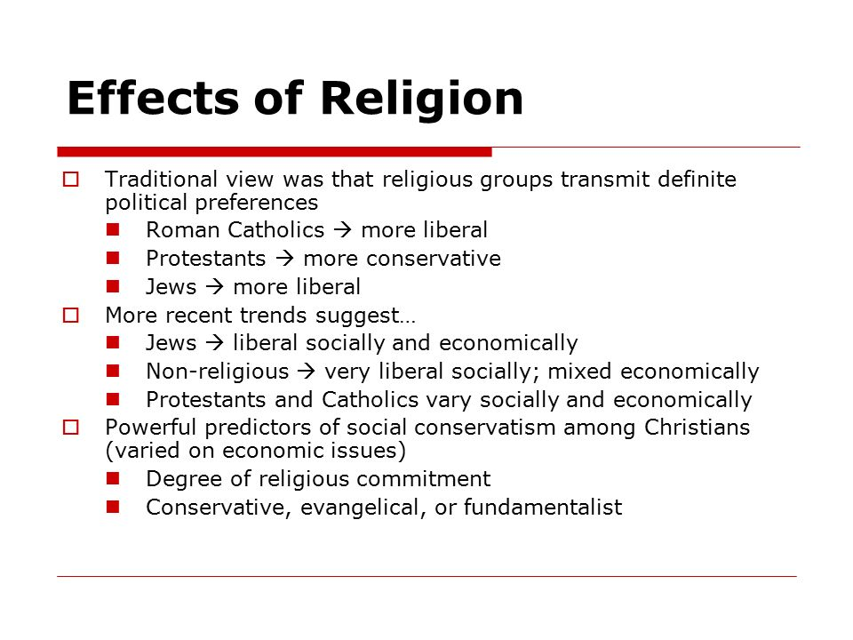 the effects of religion on politics Wars of religion: wars of religion, (1562–98) conflicts in france between protestants and roman catholics the spread of french calvinism persuaded the french ruler.