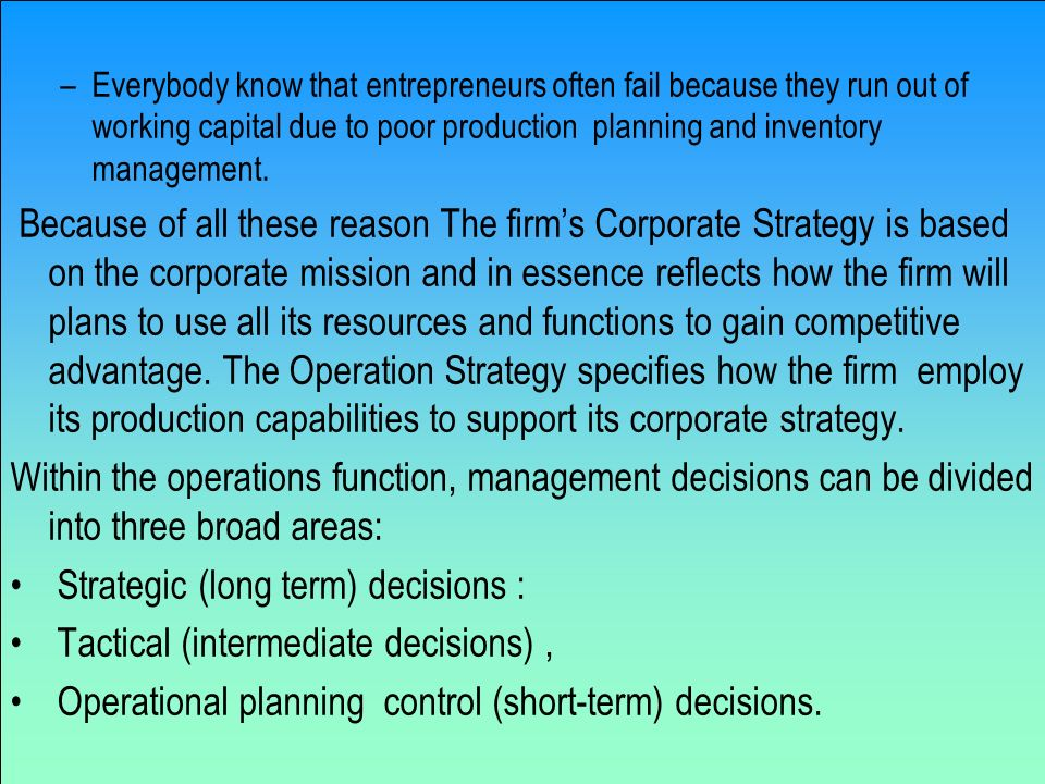 short run tactical decisions 1 answer to 1 what is the difference between short-run business decisions and long-run strategic plans 2 discuss the - 1323972.