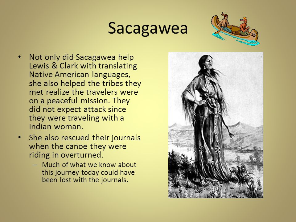 lewis and clark when did they meet sacagawea