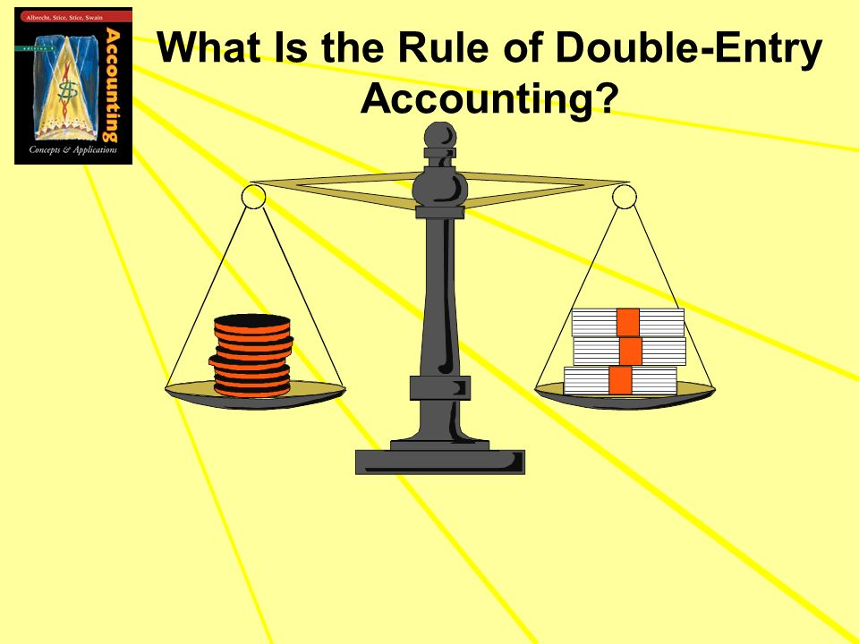 What Is the Rule of Double-Entry Accounting