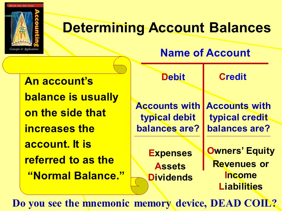 Determining Account Balances
