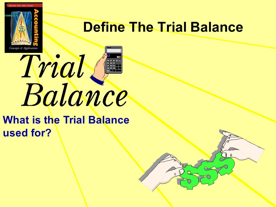 Define The Trial Balance