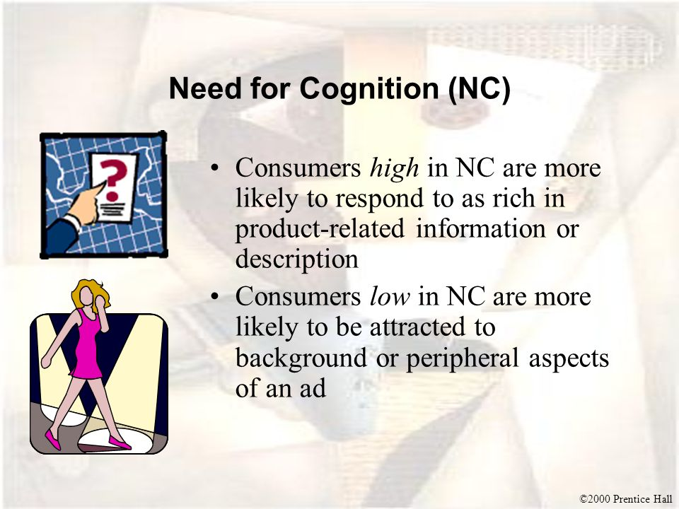 Need for Cognition (NC)