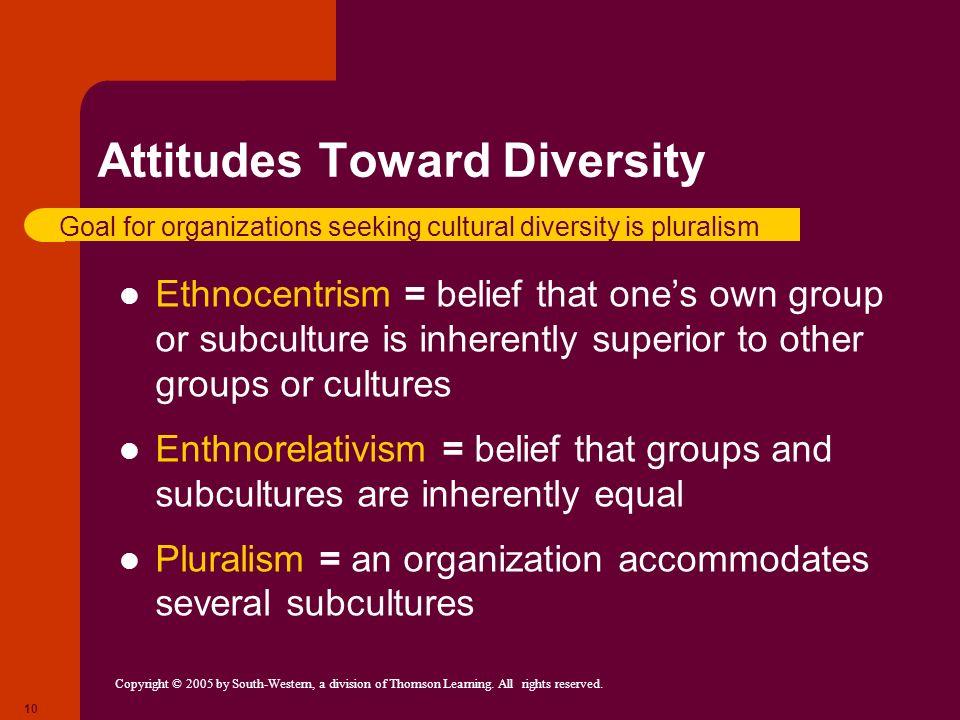 Attitudes Toward Diversity