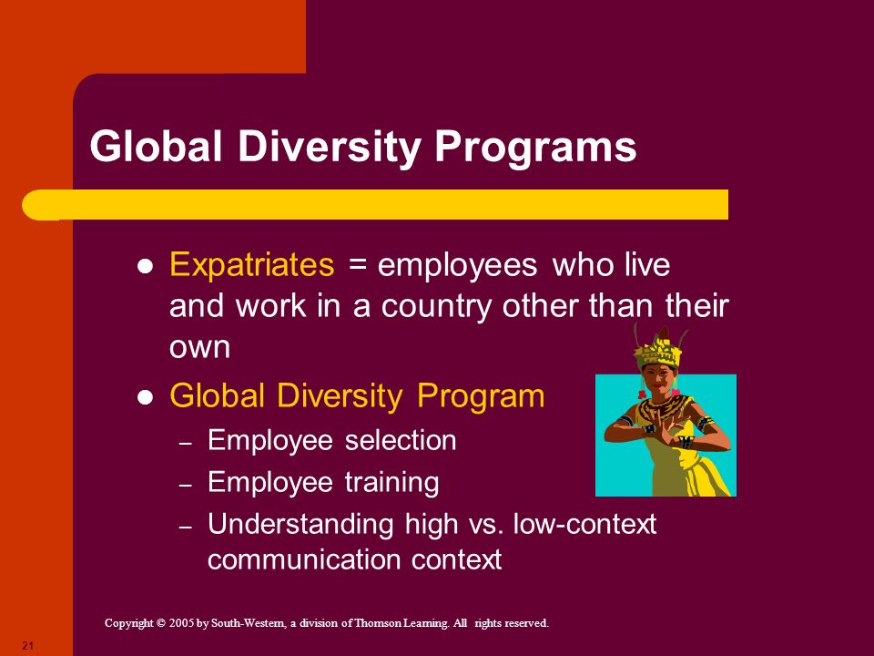 diversity training programmes essay Diversity training has become a necessity in businesses today diversity training is necessary because of people's differences in our work force some of these differences are race, gender.