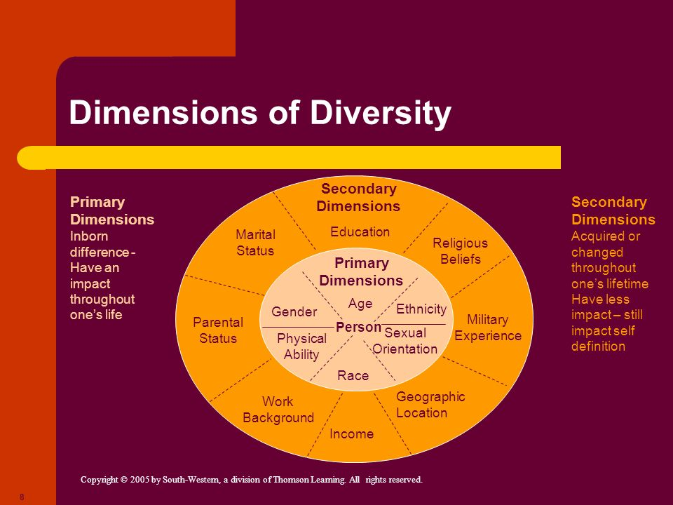 Dimensions of Diversity