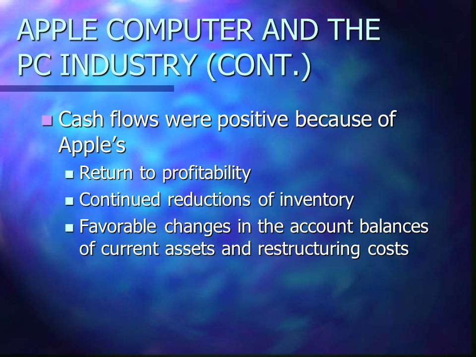 an analysis of the profitability of compaq computers A balance scorecard analysis of compaq computer corparation compaq which comes from two words government and non profit organizations worldwide to align.