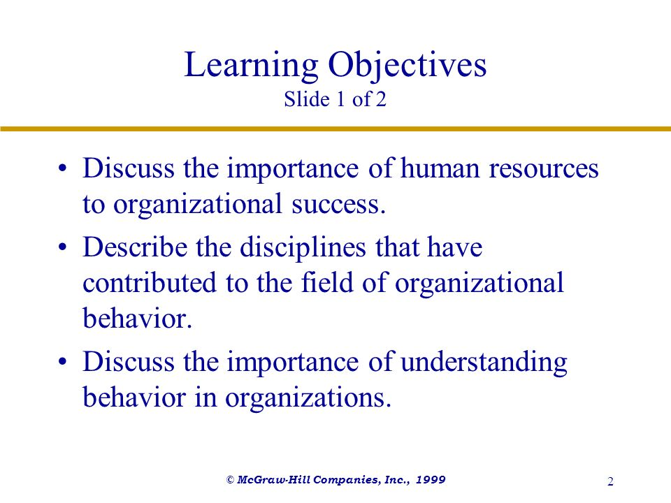 an introduction to the importance of learning