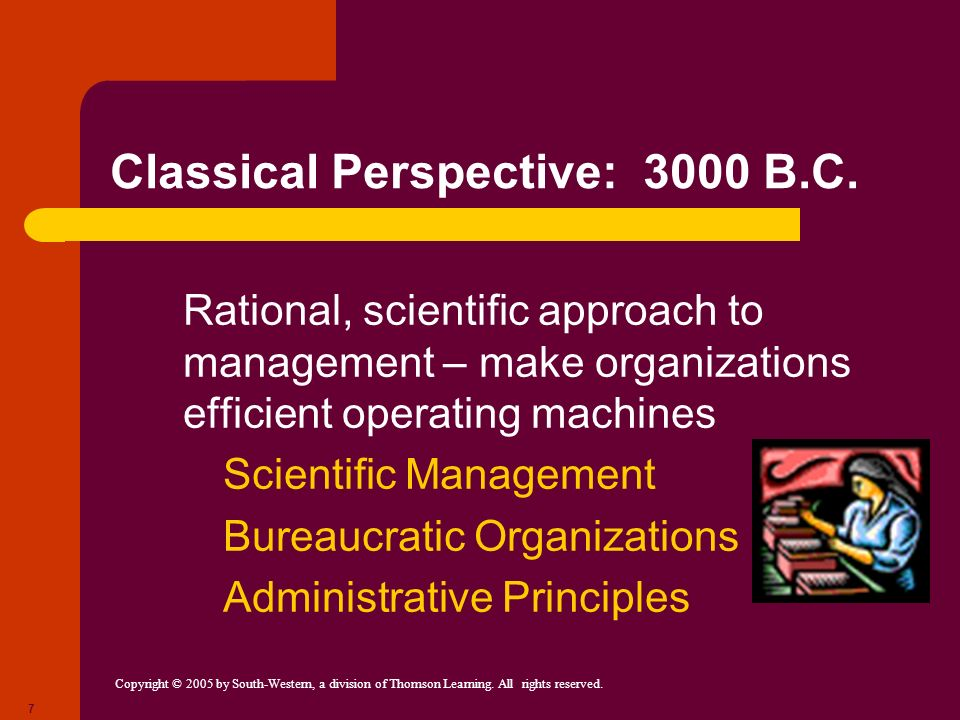 Classical Perspective: 3000 B.C.