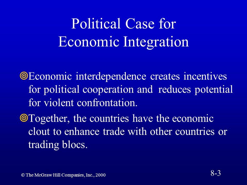 Political Case for Economic Integration