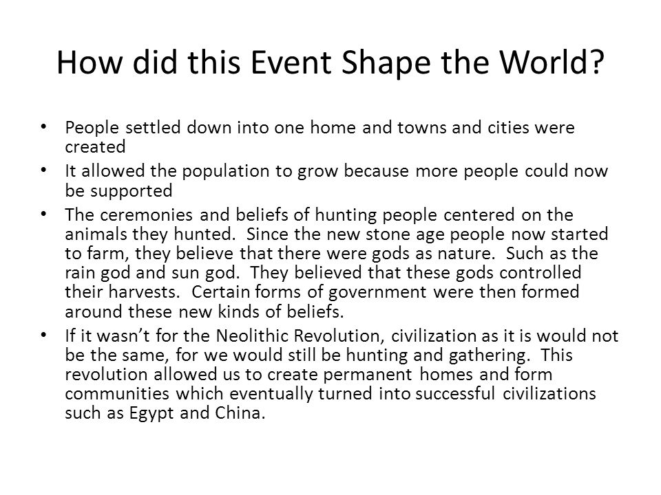 first agricultural revolution ppt video online  8 how