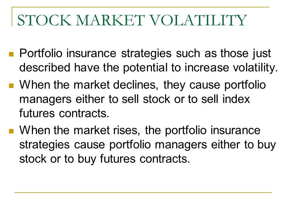 Volatility stock trading strategies